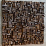 Designer's wooden blocks panels